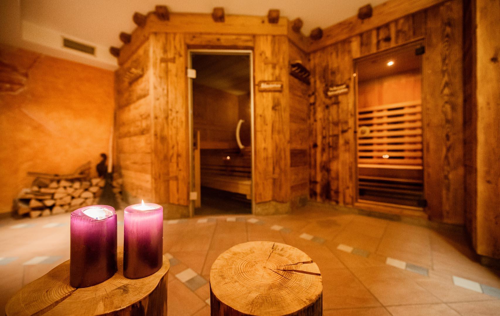 Finnische Sauna Wellnesshotel