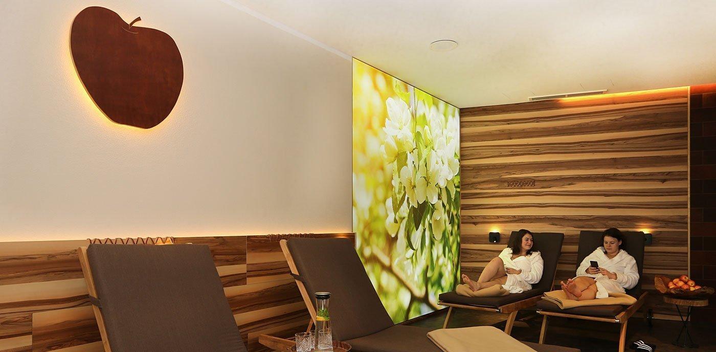 großer Ruhebereiche unseres 4 Sterne Wellnesshotel im Bayerischen Wald