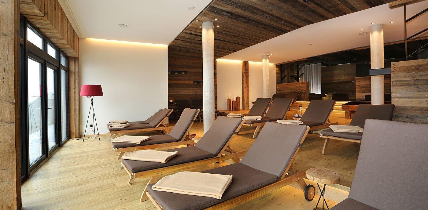 geräumige Ruheräume unseres 4 Sterne Wellnesshotel im Bayerischen Wald
