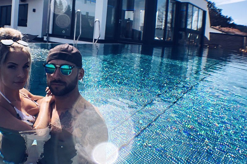 Infinity Pool unseres Wellnesshotel