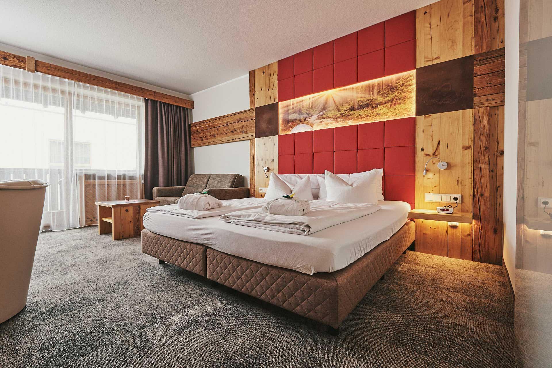 Wohlfühl- Hotelzimmer im 4 Sterne Wellnesshotel Bayerischer Wald