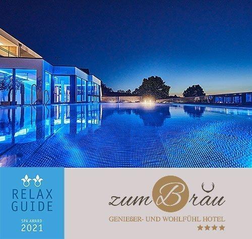 Auszeichnung unseres 4 Sterne Wellnesshotel in Bayern durch den Relax Guide