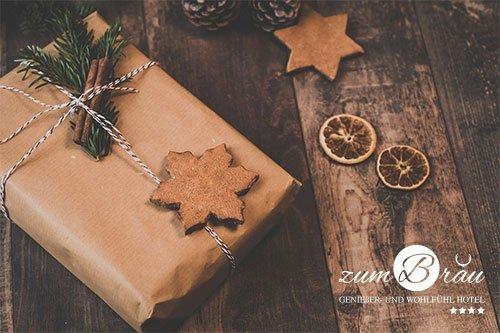 Weihnachtsgrüßes unseres 4 Sterne Welnnesshotel im Bayerischen Wald
